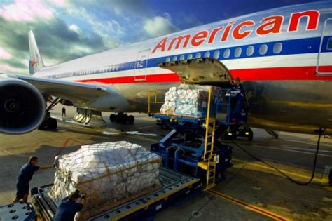 american airlines cargo tops jfk air freight tonnage logistics supply chain digital