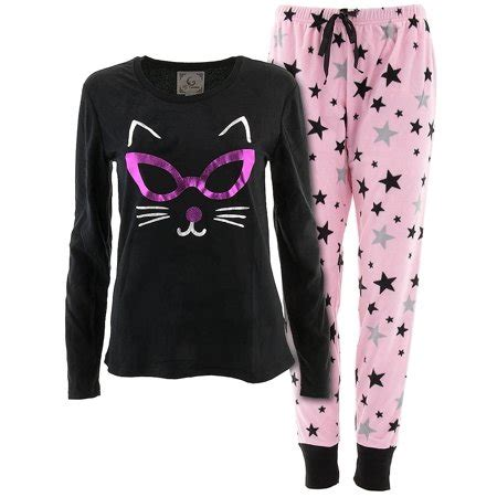 Pj Pj Pajamas pj couture s black cat pajamas walmart