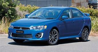 Mitsubishi Lancer 1 2016 Mitsubishi Lancer Facelift Brings Equipment To