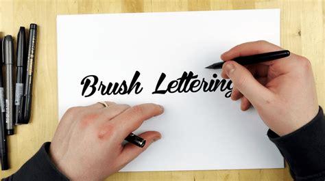 tutorial brush pen lettering the ultimate hand lettering tutorial for designers