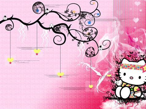 pin pin widescreen hello wallpaper kitty background hello kitty backgrounds pictures modafinilsale