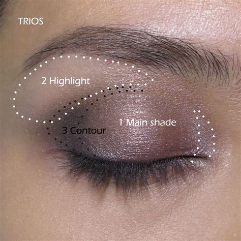 Eyeshadow Application how to apply an eyeshadow step by step tutorial eyeshadows lancome and mercier