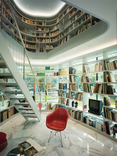 interior design library minimalist house with open library idesignarch