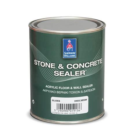stone concrete sealer