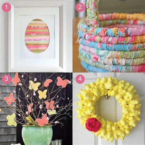 craft ideas to decorate your home easter crafts madebycristinamarie