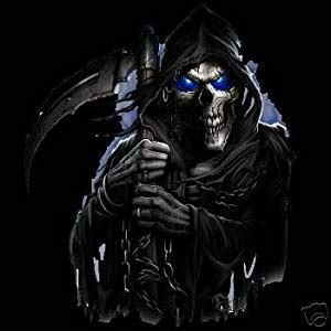 amazon.com: grim reaper poster new rare scary 16x20