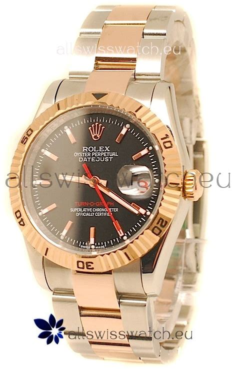 Rolex 3395 Gold rolex datejust turn o graph japanese gold in