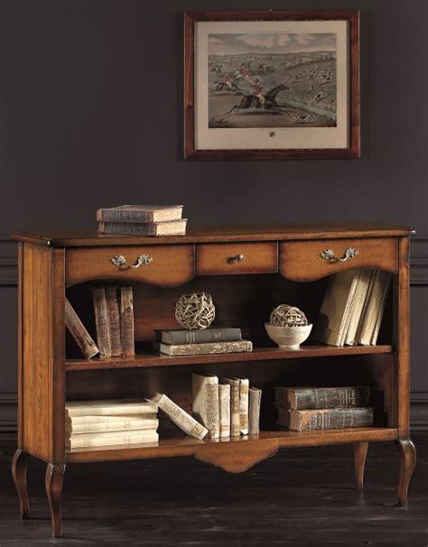 libreria bassa libreria bassa a giorno in legno