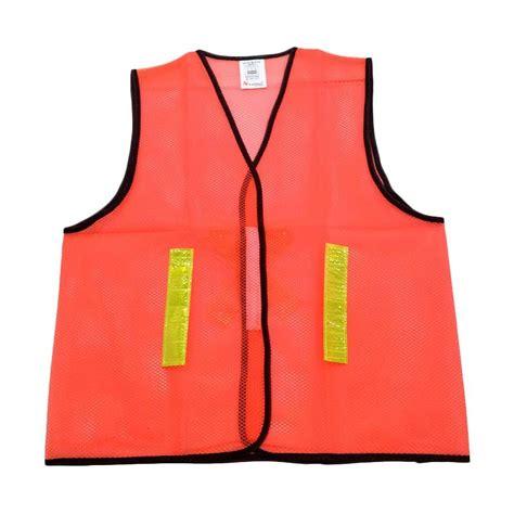 Rompi Safety Bahan Drill Kombinasi jual nankairompi jaring orange harga kualitas terjamin blibli