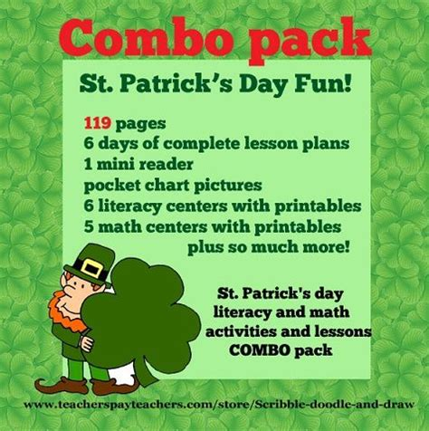 s day lesson 17 best images about st patricks day on