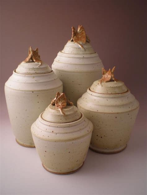 1000 Images About Canister Sets 1000 Images About Pottery Jar On Canister