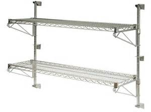shelving systems wall mounted wall mounted wire shelving systems to use in your garage