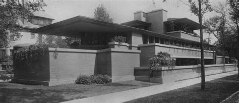 American House Plans by The Prairie Style Frank Lloyd Wright Trust