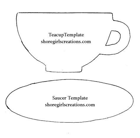 teacup card template teacup and saucer template www pixshark images