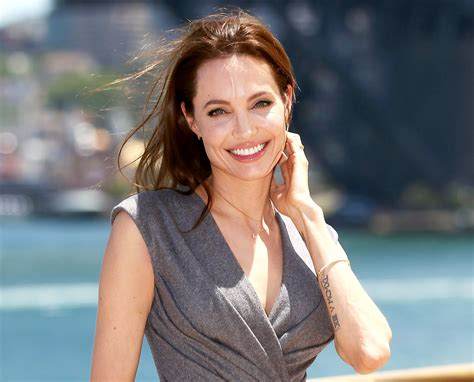 angelina jollie angelina jolie is now at peace with brad pitt divorce