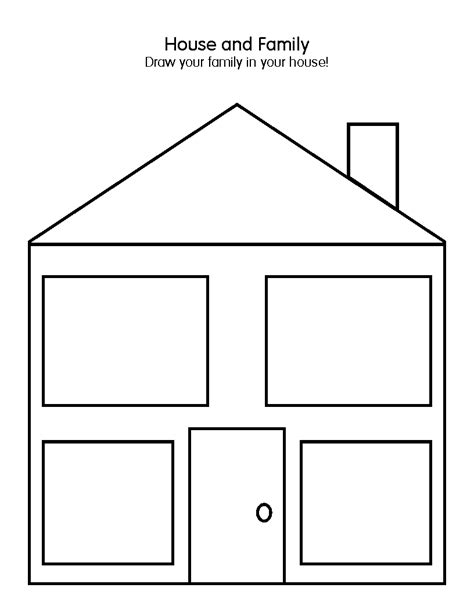 printable house worksheet house worksheet images frompo