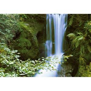 Waterfall Wall Mural wall mural waterfall in spring