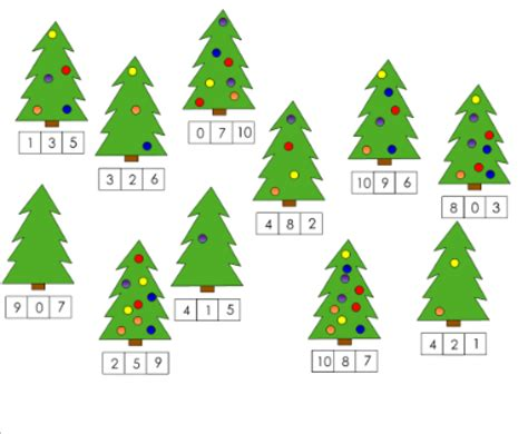 the christmas tree math problem smart exchange usa kindergarten math tree numeral recognition