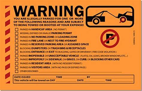 printable warning stickers 50 orange fluorescent multi reason warning violation no