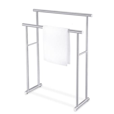 bathroom towel racks free standing zack bathroom accessories free standing finio towel rack