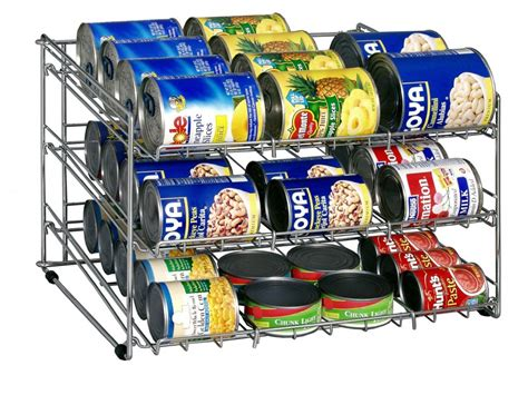 Canned Goods Organizer Pantry by 5 Best Can Rack Neatly Organize Your Kitchen Cabinets
