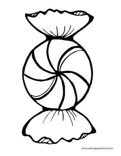 swirl peppermint candy coloring coloring pages