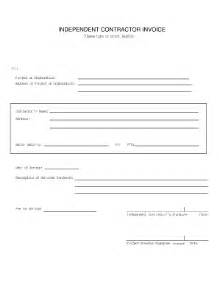 contractor invoice sample fill online printable