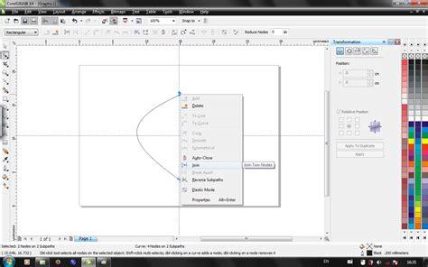 tutorial desain logo coreldraw x4 tutorial membuat logo sederhana menggunakan coreldraw x4