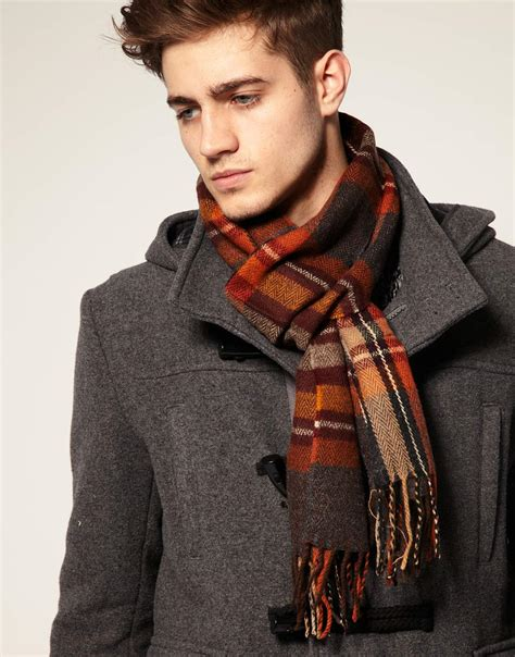 scarf fashion mens debonair fashion