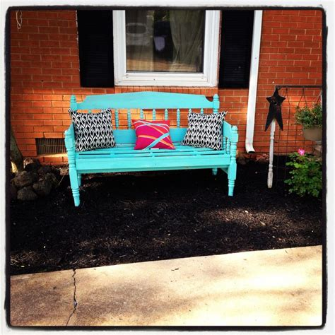 bench from headboard and footboard 17 best images about benches on pinterest rose bowl twin bed bench and rustic bench