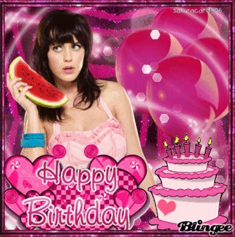 birthdate katy perry katy perry pink happy birthday carito by sakuracard