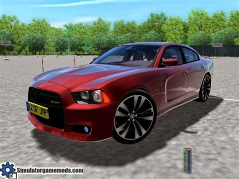 city car driving dodge charger car package simulator