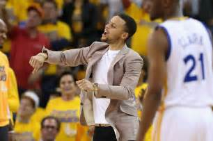 stephen curry bench press steph curry was the happiest guy on the bench as the warriors destroyed rockets to