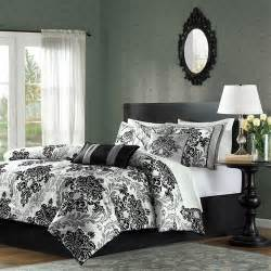 California King Black Comforter by California King Size 7 Comforter Set With Black Grey