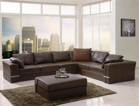modern brown leather sofa home design the pitfall of