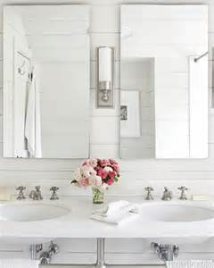 All White Bathroom by All White Bathrooms Cottage Bathroom House Beautiful