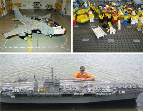 How To Make A Aircraft Carrier Out Of Paper - fantastic plastic 20 essential works of lego design