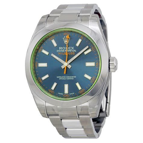 Rolex Millgauss rolex milgauss automatic blue stainless steel s
