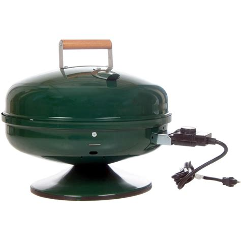 meco lock n go portable electric bbq grill green 2120