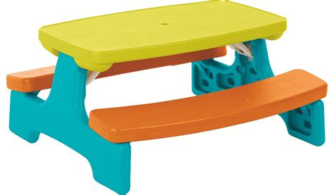 kids bench and table kids large folding table and bench home garden