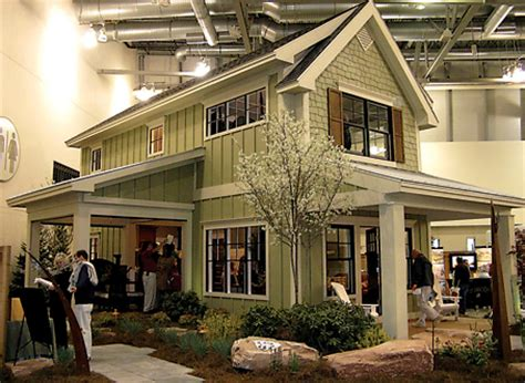 2 Story Cottage by Two Story Cottage Built Inside Devos Place