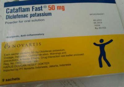 Cataflam Fast 50mg Obat obat penghilang nyeri sakit gigi atau gusi bengkak