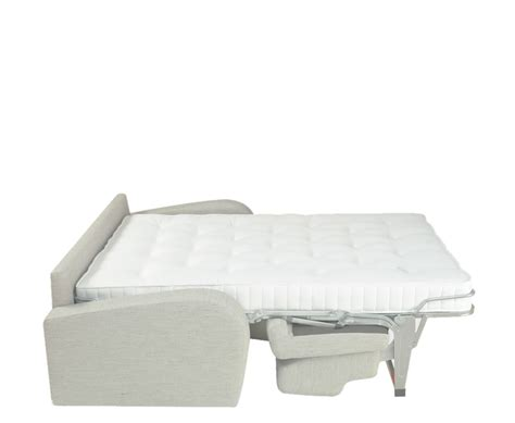 sofa bed with pull out bed supra cream faux leather sofa bed