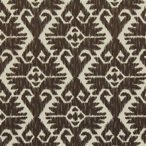 Ikat Upholstery by On Sale Brown Woven Ikat Upholstery Fabric For