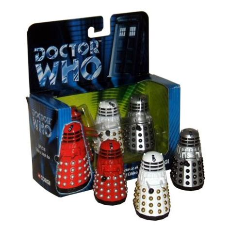 Exclusive Dr Whitening Care Orioginal doctor who corgi 3 dalek exclusive contains silver white grey black versions 3 000 sets