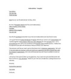 cover letter with referral cover letter exle cover letter template with referral