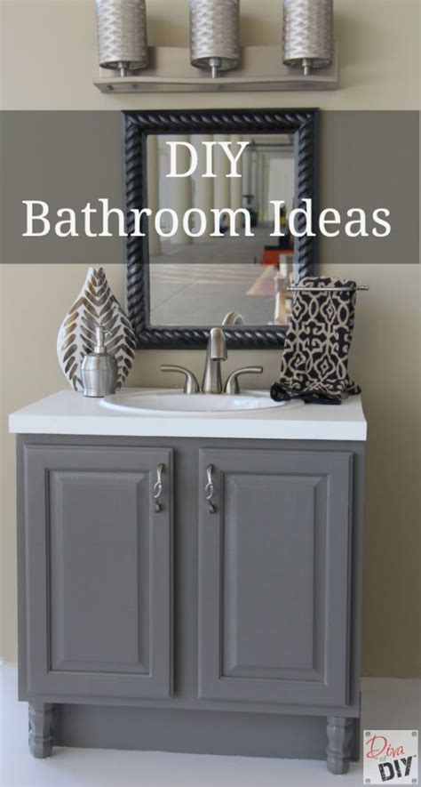 bathroom ideas diy 10 amazing diy bathroom ideas ashley nicole designs