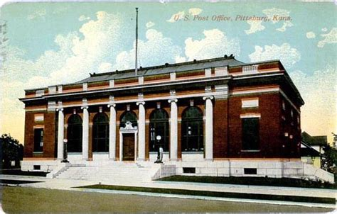 Stilwell Ks Post Office by Postcards From County Kansas