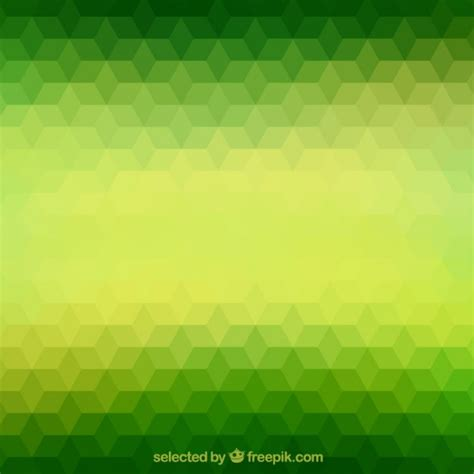 green wallpaper vector free download green polygons background vector free download