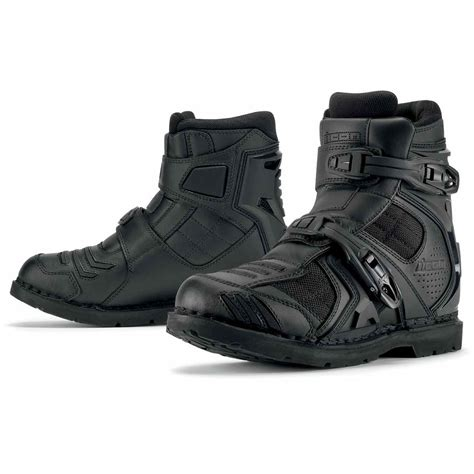 armour boots icon field armor 2 boots motorcycle boots ebay
